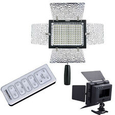 YONGNUO YN-160 II LED Video Light/Condenser MIC + IR Remote for SLR Camera DV