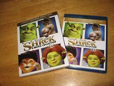 Shrek 4 movie collection Anniversary Edition Blu Ray No Digital