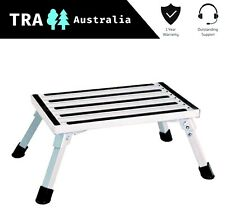 Portable Folding Aluminium Step Caravan Accessories Ladder Stool Camper Trailer