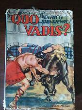 QUO VADIS? - Enrico Sienkiewicz - Tipografia Editoriale Lucchi - 1958