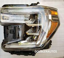 BRAND NEW FULL LED 19-20 GMC SIERRA DENALI HEAD LIGHT LAMP LH LEFT DRIVER
