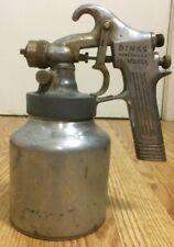 Vintage Binks Spray Gun Model 35 Touch-up Paint Sprayer Made In USA Solid!
