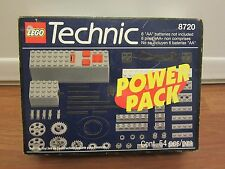 LEGO TECHNIC 8720  9V Power Pack   SEALED   Never Opened