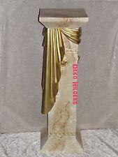 6 Säulen Säule Medusa Stuckgips Dekosäule Podest Tisch Deko Möbel 1087 F124