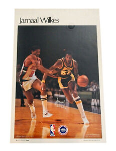 "1977 Sports Illustrated Jamaal Wilkes Poster Measures 24"" X 36"""