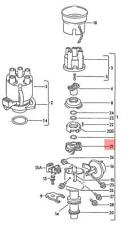 Genuine VW Hall Sensor NOS VW SEAT Corrado Golf Jetta Syncro Passat 052998065