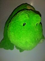 "GUND Baby Webby Green And Yellow Frog  13"" Plush Stuffed Animal"