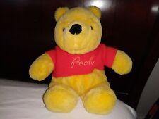 """Vintage Sears Walt Disney Productions Winnie The Pooh 12"""" Plush Stuffed Animal"""