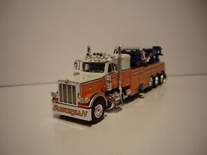 DCP FIRST GEAR 1/64 SUBURBAN TOWING PETERBILT 389 CENTURY 1150 ROTATOR WRECKER