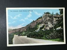 The Palisades Santa Monica California CA Postcard