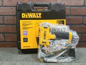 Dewalt DWFP2350K 23 Gauge Pneumatic Pin Nailer Kit-***NEW***