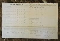 AUTOGRAPHED CIVIL WAR VOUCHER ARMY of the OHIO MAJ GEN BUELL'S AAG J.M.WRIGHT