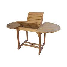 Gartentisch 120-180x120 Gartenmöbel Holztisch Tisch Garten Massivholz Dalia