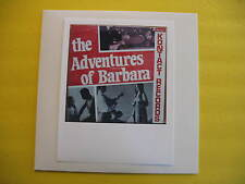 ADVENTURES OF BARBARA-SEXY NUDE COMEDY-XXXX-VHTF-LISTEN
