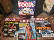 BUNDLE  BBC FOCUS MAGAZINES 3 x 1997 + 1 x 2008