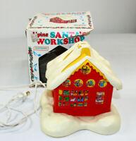 Vintage Electrified Alpine Santa's Workshop Regency Industries 1978 In Box