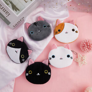 Soft Plush Cartoon Women Coin Purse Cute Animal Zipper Children Girl Coin Walln8