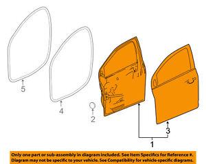 Chevrolet GM OEM 12-16 Sonic Front Door-Door Shell Left 95940509
