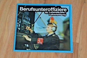 DDR  Broschüre Militärische Berufe NVA  Berufsunteroffizier Luftstreitkräfte