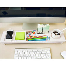 Office Tidy Multifunction Desktop Storage Rack Desk Organizer Holder Shelf  ! ぱ