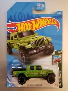 Hot Wheels '20 Jeep Gladiator #117 HW Getaways 5/5 Green GTC83-M9C0M