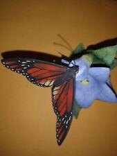 "Lenox Nature'S Beautiful Butterflies ""Monarch"" Porcelain Figurine 1990"