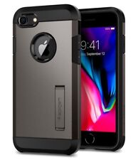 Spigen Tough Armor 2 Schutzhülle Case Cover für Apple iPhone 7 & 8 Gunmetal