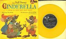 Disney - A Dream Is A Wish Your Heart Makes Vinyl 78 rpm record