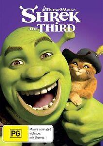 Shrek The Third DVD : NEW