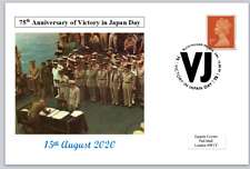 2020 75th anniversary victory in japan vj day ww2 wwii postal card #5