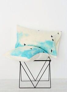 Urban Outfitters Deny Designs Sharon Clark Blue Skies Ahead Pillowcase Set Shams