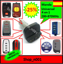 MANDO GARAJE UNIVERSAL MECHERO COCHE LIGHTER CAR COMPATIBLE PUJOL ROPER (A1T2)
