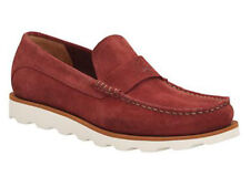 Clarks Mens  ** Dakin Edge Rust Suede , Casual loafers , Cushioning