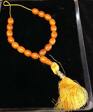 African  Cobal  Amber  Necklace  (Berber Tribe)  with Tassel