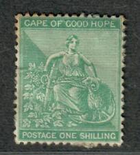Cape Of Good Hope Sc#19 M/H/Vf, Toned At Top, Cv. $225