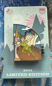 Disney Annual Passholder Quarterly Series Peter Pan Pin LE 3000 New