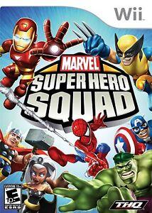 Marvel Super Hero Squad - Nintendo Wii, New & Factory Sealed
