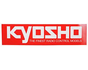 Kyosho 90x360mm Large Size Logo Sticker [KYO87004]