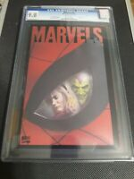 Marvels #4 (Marvel 1994) CGC Graded 9.8, Alex Ross Acetate Cover, Free Shipping!