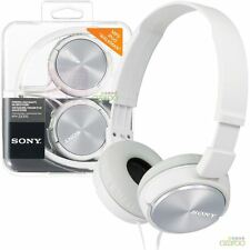 Casque Audio pliable nomade Sony Mdrzx310 4 Couleurs Blanc