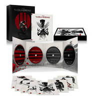 The Wolverine Exclusive 4 Disc Unleashed Extended Edition 3D Blu-Ray DVD Include