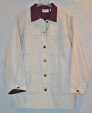 Bill Blass Women's Regular 100% Cotton Jean Coats & Jackets