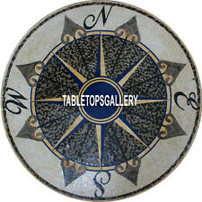 55'' Marble Amazing Dining Top Living Room Table Italian Inlay Art Design H3893A