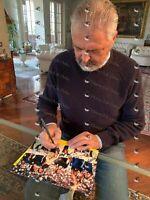 Foto Autografata Alessandro Altobelli, Cabrini e Bergomi Signed Mondiali 1982