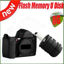 Cute Camera Shape 8GB 8 GB USB 2.0 Flash Drive Memory Stick Thumb Storage U Disk