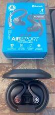 JLab Jbuds AirSport In-Ear Wireless Headphones - Black