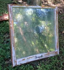 VINTAGE SASH WOOD Reclaimed WINDOW FRAME PINTEREST RUSTIC Antique MIRROR look