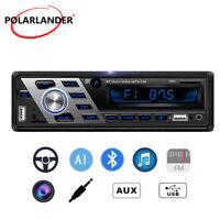Car Radio FM Audio In dish Stereo Bluetooth MP3 Player SD/USB/AUX 1 Din Headunit