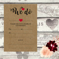 DIY Wedding Invitations Write Your Own Invites Day Night Handmade Rustic DIY13