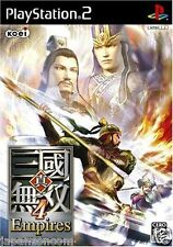 Used PS2 Shin Sangoku Musou 4 Empires SONY PLAYSTATION 2 JAPAN IMPORT